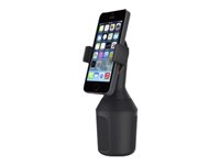 Belkin Car Cup Mount - Support pour voiture - pour Apple iPhone 4, 4S, 5, 5s, 6, 6 Plus; Samsung Galaxy Note 3, Note II, S II, S4, S5 F8J168BT